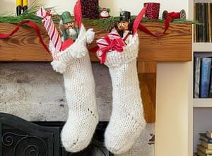 Chunky Christmas Stocking